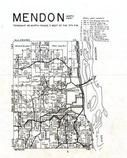 Mendon Township, Clayton County 1966